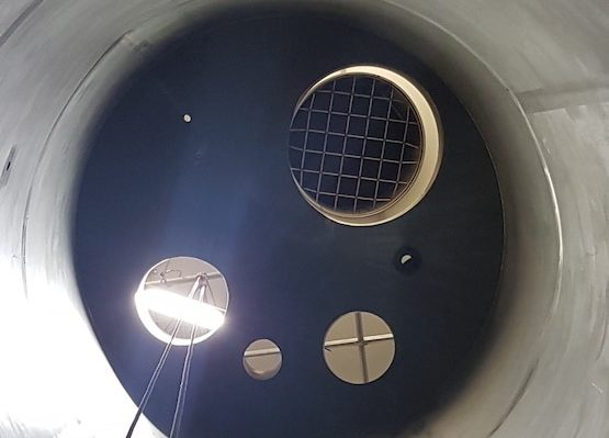 clean silo after cleaning