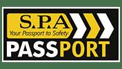 s.p.a passport logo